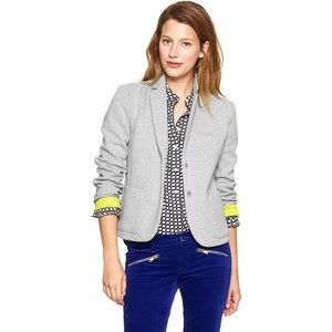 Gap Knit Blazer - Heather gray
