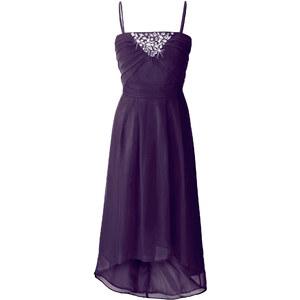 BODYFLIRT Abendkleid ohne Ärmel in lila von bonprix