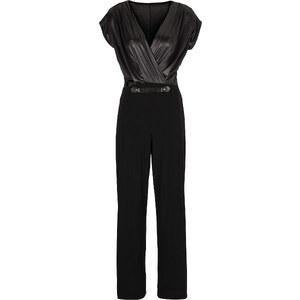 BODYFLIRT Overall kurzer Arm in schwarz für Damen von bonprix