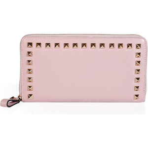 Valentino Leather Studded Wallet