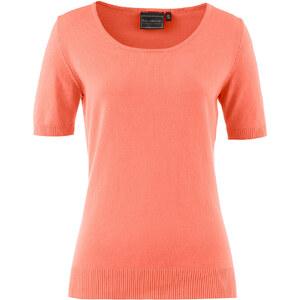 bpc selection Pullover kurzer Arm figurbetont in rot (Rundhals) für Damen von bonprix