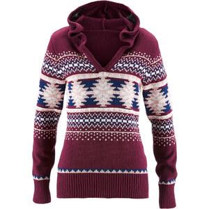 bpc bonprix collection Pullover langarm figurbetont in lila für Damen von bonprix