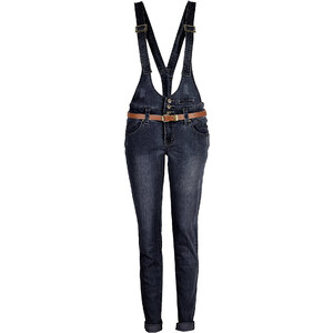 RAINBOW Jeans sehr figurbetont in schwarz für Damen von bonprix