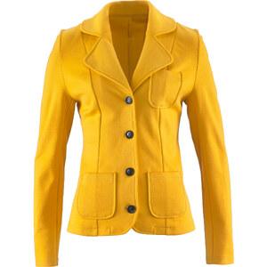 bpc bonprix collection Sweatblazer langarm in gelb für Damen von bonprix