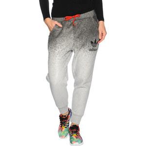 adidas Loose Jogginghose mid grey heather black