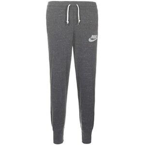 NIKE Gym Vintage Hose Damen, grau / weiß