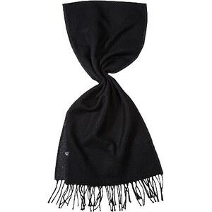 Herren Strellson Premium Schals schwarz unifarben
