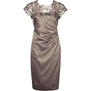 Apart Cocktailkleid / festliches Kleid taupe