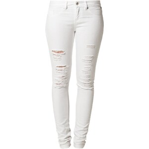 Brooklyn Supply Co. JETT MID RISE Jeans Slim Fit white