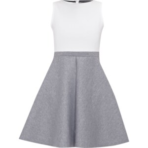Glamorous Two-Tone-Kleid aus formstabilem Neopren