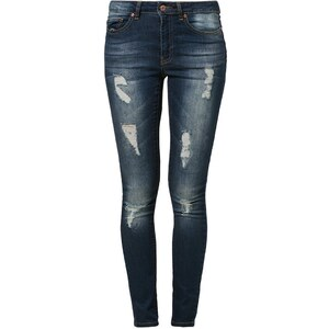 Noisy May LUCY Jeans Slim Fit dark blue denim