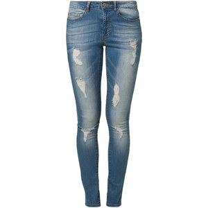 Noisy May LUCY Jeans Slim Fit medium blue denim