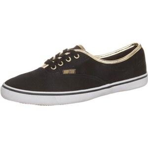 Pier One Sneaker schwarz/gold