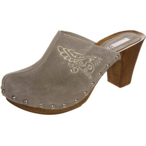 Pier One Clogs taupe/silver