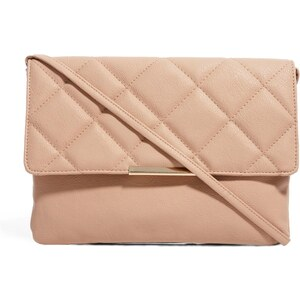 ASOS Clutch Bag With Oversized Quilted Flap