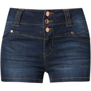 Even&Odd Jeans Shorts dark blue denim