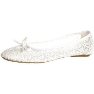 Anna Field Ballerina white