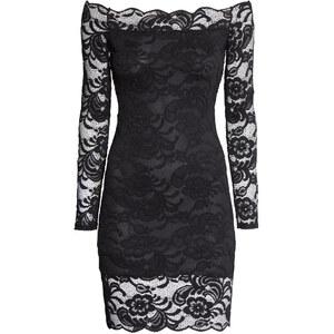 H&M Off-Shoulder-Kleid aus Spitze