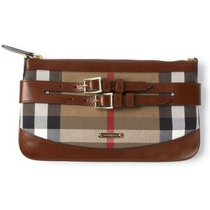 BURBERRY LONDON House Check clutch bag