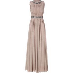 Jenny Packham Nude Silk Evening Dress