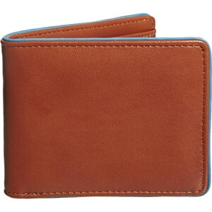 ASOS Wallet with Contrast Teal Edge