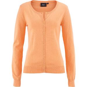 bpc bonprix collection Strickjacke Langarm in orange für Damen von bonprix