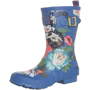 Joules MOLLY WELLY Gummistiefel blue floral