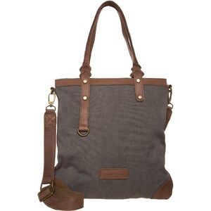 Schu(h)tzengel PAULINE Shopping Bag grau