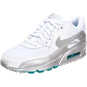 Nike Sportswear AIR MAX 90 Sneaker white/metallic silver/turbo green
