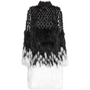 Alexander McQueen Silk And Fur Dress