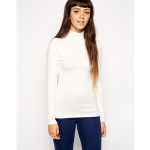 ASOS - The Turtle Neck - Geripptes Oberteil