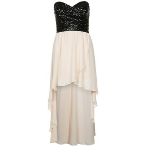 TFNC Cocktailkleid / festliches Kleid black / nude