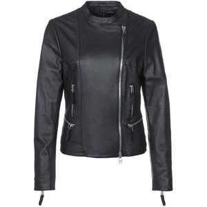 DNA MARLEEN Lederjacke black