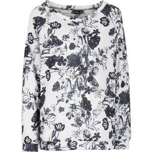 BODYFLIRT Shirt langarm figurumspielend in schwarz (Rundhals) für Damen von bonprix