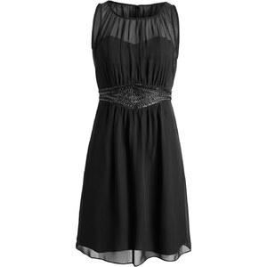 Esprit Fließendes Chiffon-Kleid mit Pailletten