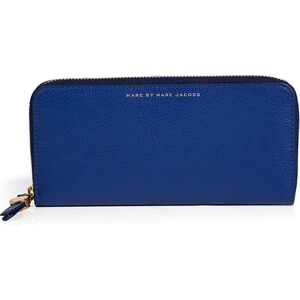 Marc by Marc Jacobs Leather Slim Zip Around Wallet