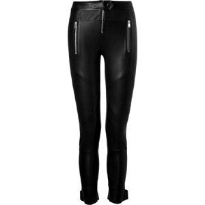 Jitrois Leather Zip Pocket Pants