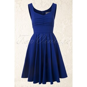 Fever 50s Ruby Prom Dress Sapphire