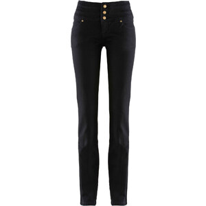 John Baner JEANSWEAR Stretch-Jeans Bauch-Weg-Röhre, Normal in schwarz für Damen von bonprix