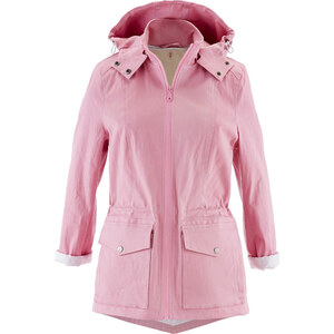 bpc bonprix collection 2-in-1 Jacke mit abnehmbarer Kapuze langarm in rosa für Damen von bonprix