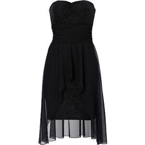 RAINBOW Kleid ohne Ärmel figurbetont in schwarz von bonprix