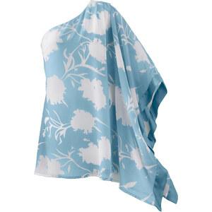 One-Shoulder-Kleid langarm in lila von bonprix
