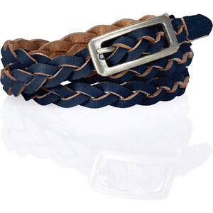 bpc bonprix collection Leder Flechtgürtel Pastell in blau für Damen von bonprix