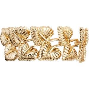 Gogo Philip Gold Leaf Bracelet