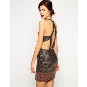 ASOS - RED CARPET - Hochwertiges Kleid mit Pailletten - Limettengrün 40,99 €