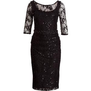Phase Eight Kleid MERILEE mit Spitzenbesatz schwarz