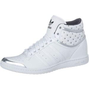 adidas Originals TOP TEN HI SLEEK UP Sneaker high running white