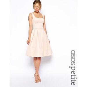 ASOS PETITE - Knielanges Debütantinnenkleid - Hautrosa