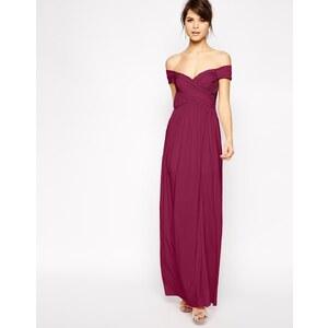 ASOS - Gerafftes Bardot-Kleid
