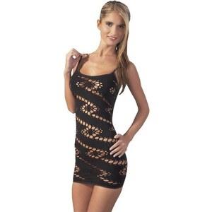 Cottelli Collection Kleid nahtlos schwarz S-L, 1 Stück